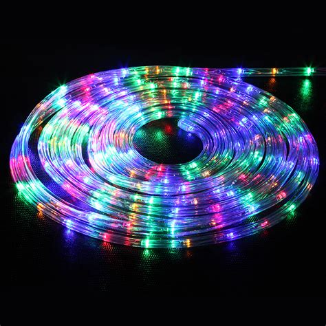 32 8ft led flexible rope light 220v string kit for home