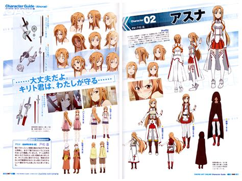 sword art online the perfect guide animation art book