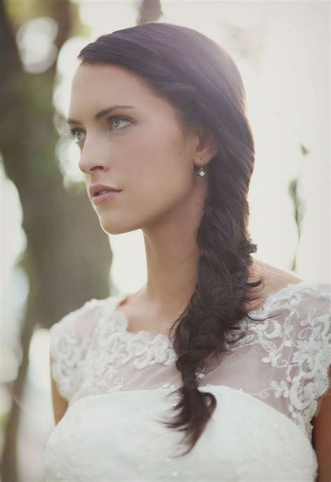 Wedding Hairstyles For Hair With Braids by Diy Wedding Hairstyle The Fishtail Braid