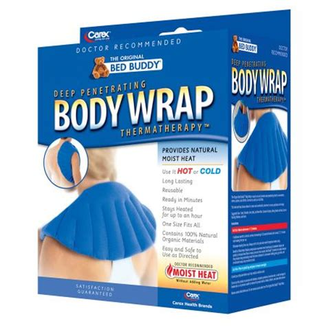 bed buddy body wrap bed buddy deep penetrating body wrap walgreens