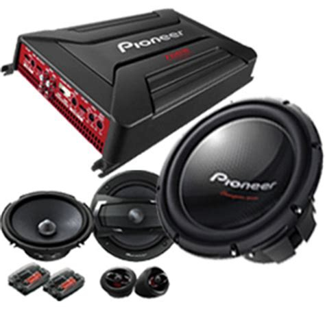 Speaker Subwoofer Surabaya pioneer performa series audio mobil sistem sound quality
