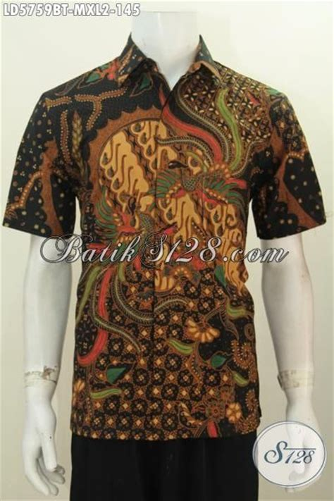 Kemeja Batik Mewah kemeja batik keren warna klasik nan mewah pakaian batik