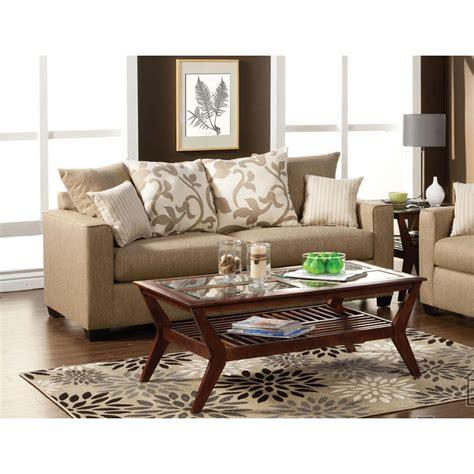 beige sofa with pillows venetian worldwide colebrook beige sofa w pillows made