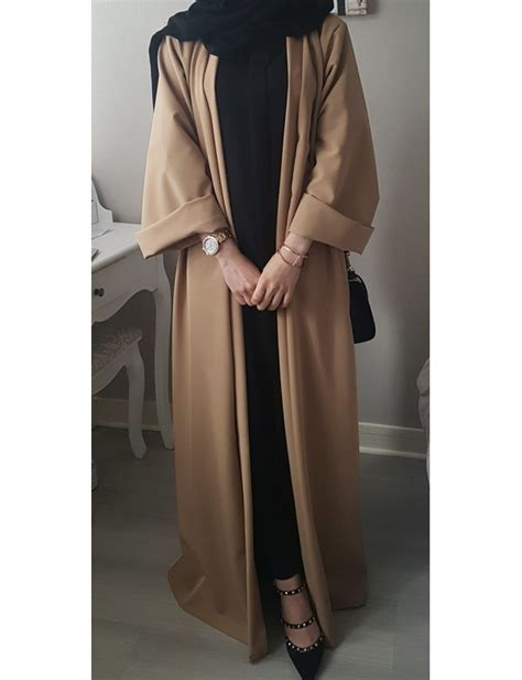 factory custom 2015 new design abaya 100 polyester abaya new style western simple muslim long dress in malaysia