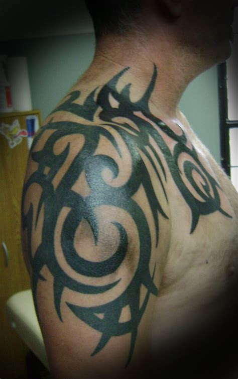 african tribal tattoos half sleeve black tribal right half sleeve