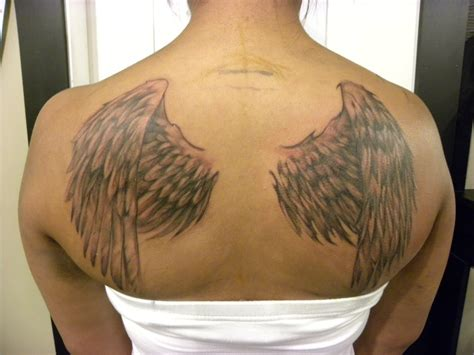 tattoo on the back wing tattoos designs ideas and meaning tattoos