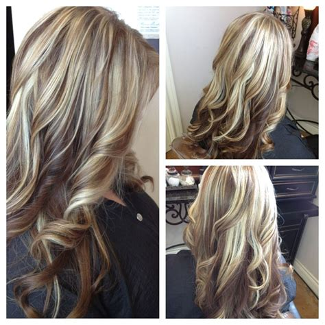 ash blonde highlights and lowlights highlights and lowlights color blonde long layers