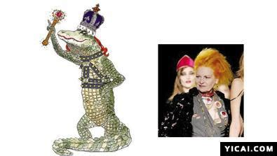 Vivienne Westwood Luella Bartley And Co Create The Ultimate Disney Dresses by 动物插画恶搞时尚设计师 男人频道