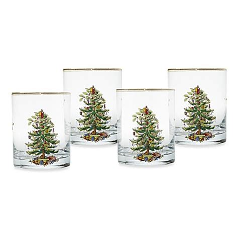 buy spode 174 christmas tree 14 oz double old fashioned