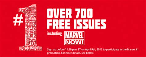 Marvel Giveaway - marvel comics giveaway get 700 digital comics for free