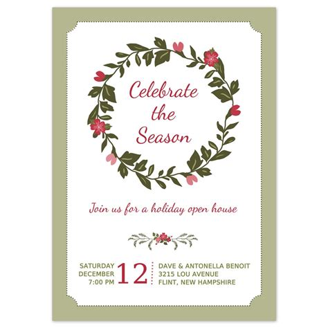 christmas party invitation lets get elf d up christmas