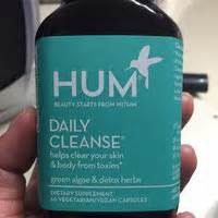 Daily Detox Hum Reviews by Hum Nutrition Daily Cleanse Tm 60 Capsules Reviews