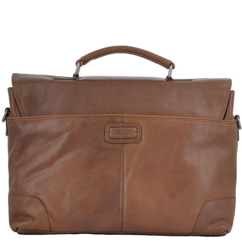 Handcrafted Leather Briefcase - mens bags soft leather handcrafted briefcase elliot