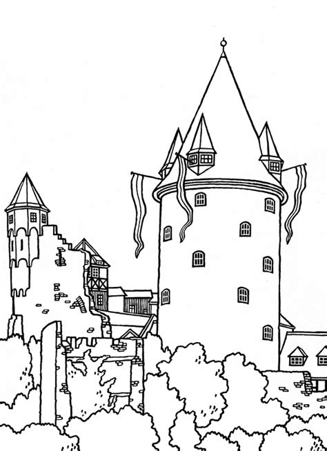 minecraft castle coloring page great castles games castle coloring book