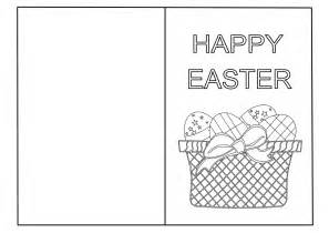 Easter Templates Cards 6 Best Images Of Easter Printable Cards To Color Free
