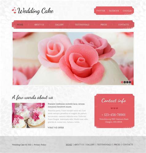 Wedding Cms by Wedding Cake Moto Cms Html Template 44226