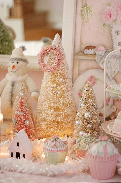 pretty pink christmas decorations pictures photos and