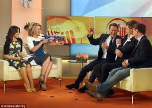 Replacement Sofa Feet by Georgie Gardner Watches The Today Show From Home After