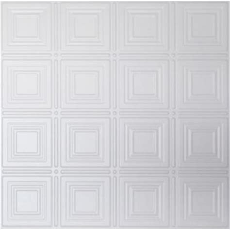 ceiling tiles home depot global specialty products dimensions 2 ft x 2 ft white tin ceiling tile for refacing in t grid