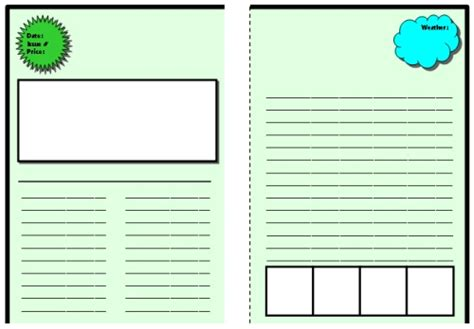biography templates for elementary students biography book report newspaper templates printable