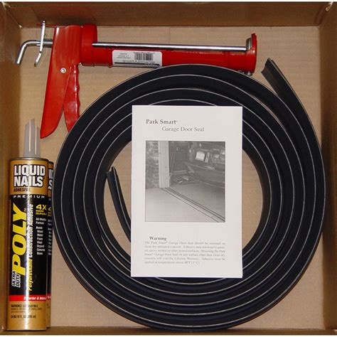 Tsunami Seal 10 Garage Door Threshold Seat Kit 143568 Tsunami Garage Door Threshold Seal