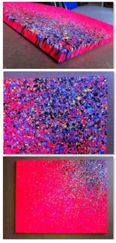 how to spray paint on canvas best 25 glitter canvas ideas on