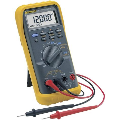 Multimeter Fluke 787 handheld multimeter digital fluke 787 eur calibrated to