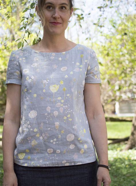 Esme Top esme top in nani iro fabric a happy stitch
