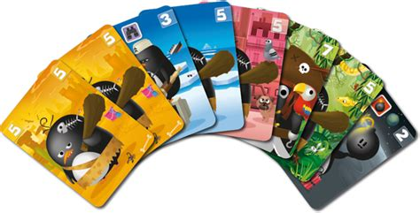 Asmodee Parkage by Climate Conscious Card Zany Penguins Is Lightweight Family Reviews Paste