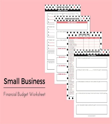 13 Sle Business Budget Templates Word Pdf Pages Free Premium Templates Small Business Budget Template Free
