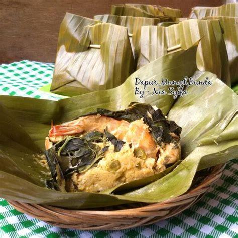 bothok tahu tempe udang budaya indonesia