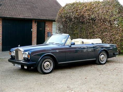 corniche rolls royce for sale 1982 rolls royce corniche convertible for sale on car and
