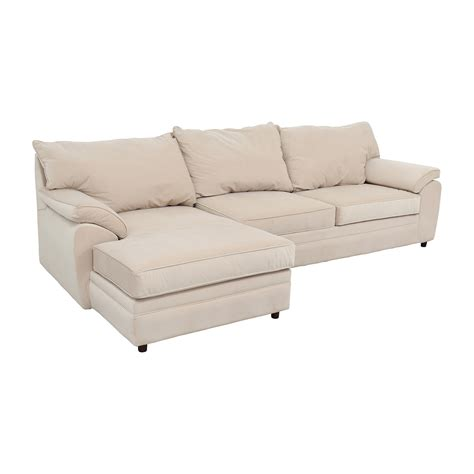 bobs sectional 33 off bob s furniture bob furniture off white right
