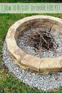 building an outdoor pit best backyard diy projects clean and scentsible