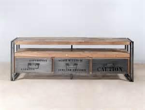 meuble tv bois 3 suisses artzein