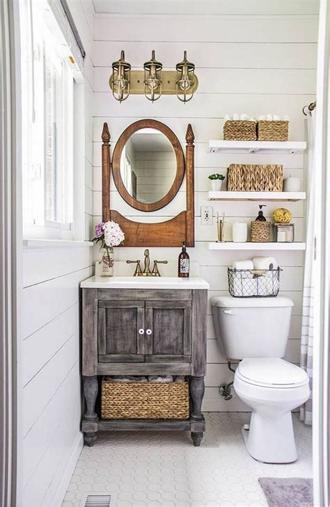 Small Powder Room Vanity - 8 mind blowing small bathroom makeovers before and after photos shoproomideas