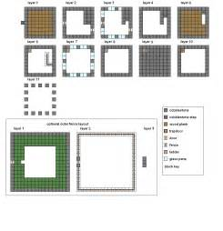 Minecraft Mansion Floor Plans Minecraft Floorplans Medium House By Coltcoyote On Deviantart