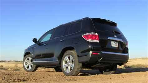 2013 toyota limited review review 2013 toyota highlander limited 4wd luxurious and