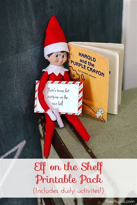 Email Your On The Shelf on the shelf ideas printables survival guide