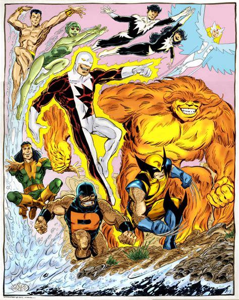 alpha flight by john marvel comics of the 1980s wolverine and alpha flight by john byrne