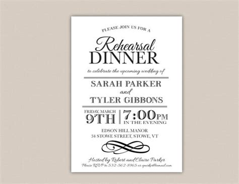 free dinner invitation templates printable posts related to free rehearsal dinner invitations printables