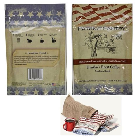 Patriot Pantry Review by Augason Farms Patriot Pantry Emergency Instant Coffee Kit