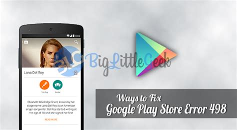 Play Store Error 8 Simple Ways To Fix Play Store Error 498 Easily