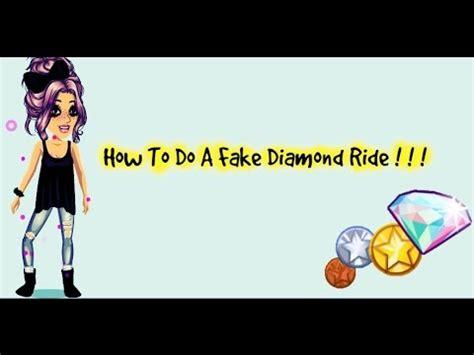 how do you get diamonds on msp how to do a fake diamond ride on msp 2015 youtube