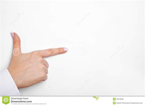 Thumb And Fingers with thumb and index finger royalty free stock images