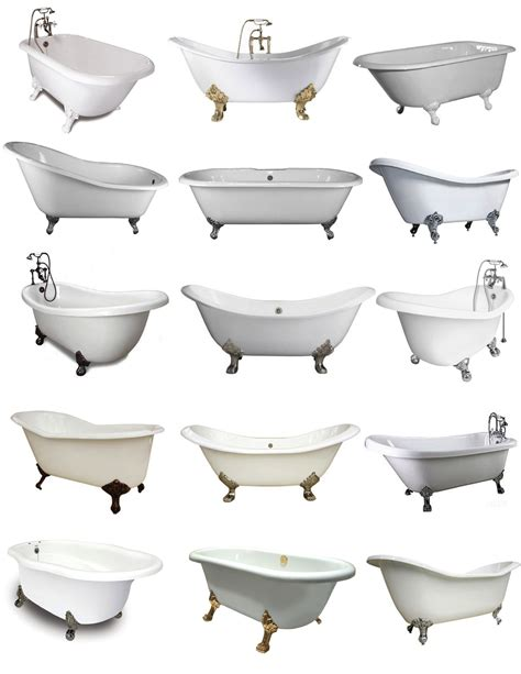 styles of bathtubs footed in style the clawfoot tub house appeal