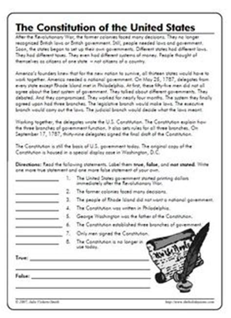 The Constitution Of The United States Worksheet by United States Constitution Unscramble And Other Worksheets
