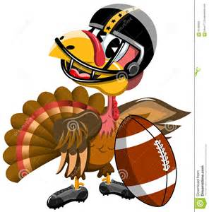 Who Plays Football On Thanksgiving Thanksgiving Turkey Playing American Football Stock Vector