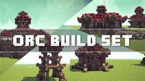 build a house minecraft orc build set youtube