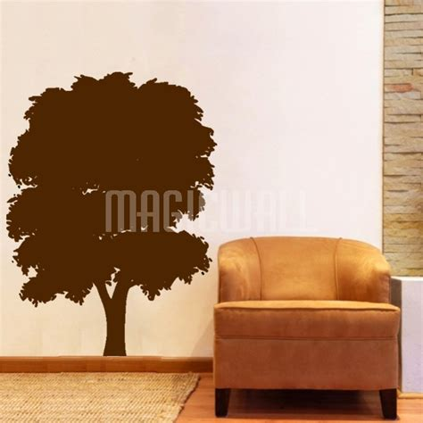 tree silhouette wall sticker wall decals wall stickers lush tree silhouette